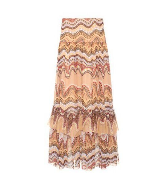 Chloe skirt silk