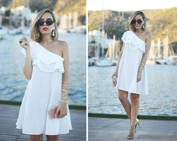 mini dress white dress white dress