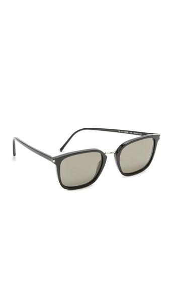 Saint Laurent Sl 131 Combi Mineral Lens Sunglasses - Black/Grey