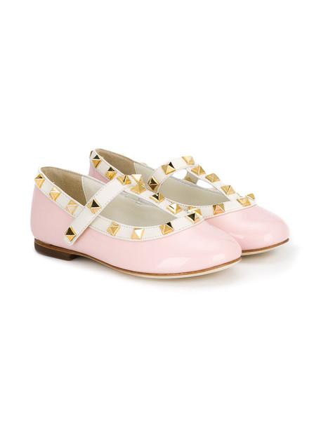 Prosperine Kids leather purple pink shoes