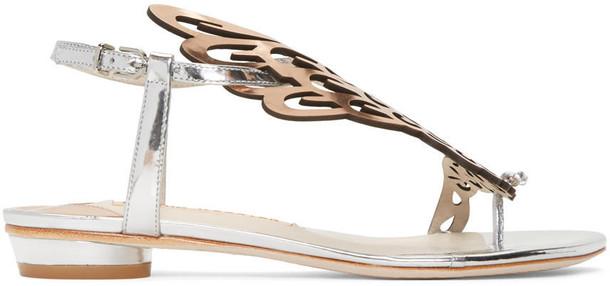 Sophia Webster sandals silver shoes