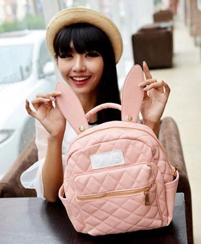 1989d4ad60d5 Aliexpress.com   Buy BUNNY EARS backpack wonderland rabbit pastel cute  kawaii harajuku small bag amo from ...
