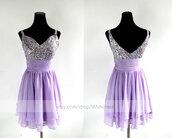 lilac short prom dress,short prom dress,lilac prom dress,lilac homecoming dress,sequins prom dress,sweetheart prom dresses,prom dress,cocktail dress