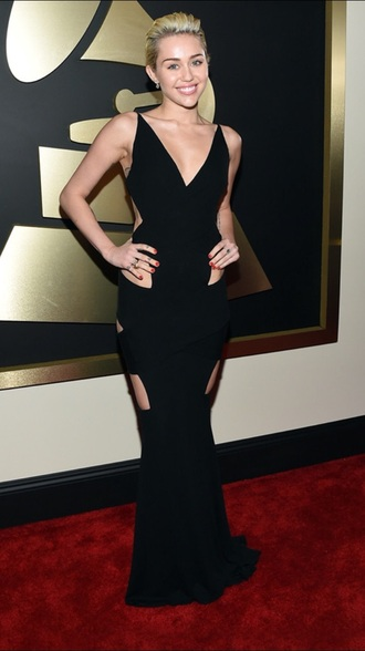 dress miley cyrus grammys 2015 gown
