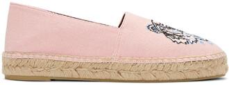 tiger espadrilles pink shoes