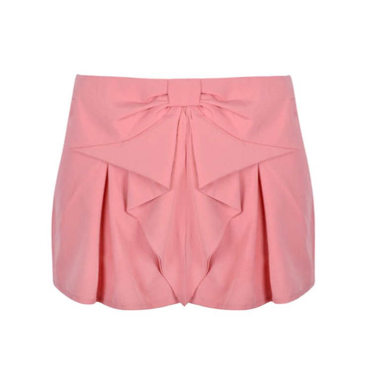BOW FRONT SHORT - Ally Fashion