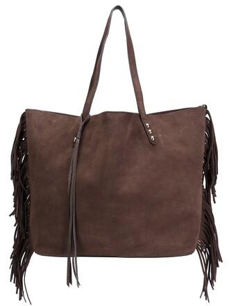 bag tote bag brown