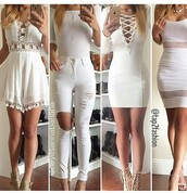 dress,outfit,outfit idea,summer outfits,spring outfits,cute outfits,party outfits,all white everything,white dress,party dress,short dress,sexy party dresses,short party dresses,special occasion dress,long sleeves,long sleeve dress,jeans,ripped jeans,skinny jeans,high waisted jeans,white jeans,white ripped jeans,pants,skinny pants,white pants,high waisted pants,summer pants,off the shoulder,off the shoulder top,heels,high heels,nude heels,cute high heels,lace up heels,nude high heels,shoes,sexy shoes,party shoes,cute dress,cute shoes,cute top,summer top,summer shoes,top,white top,nude shoes,nude pumps,pumps,high heel pumps,ankle strap heels,clothes,trendy,fashion,stylish,style,streetwear,clubwear,club dress,casual,casual dress
