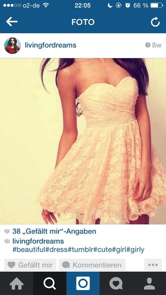 dress pink rose lovely flowers lace