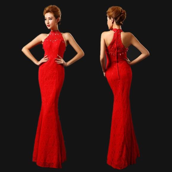 long dress long prom dresses halter top dress sexy dress