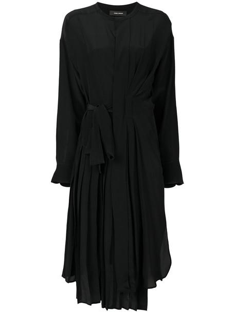 Isabel Marant dress midi dress women midi black silk