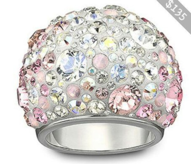 jewels ring diamonds rhinestones