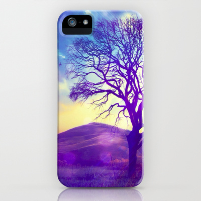 Purple Hill - for iphone iPhone & iPod Case by Simone Morana Cyla | Society6
