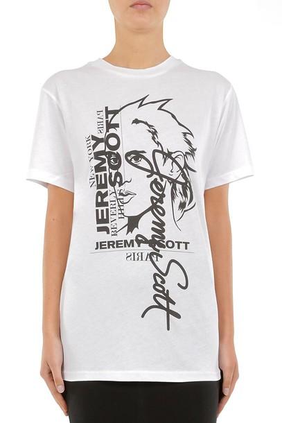 jeremy scott white top