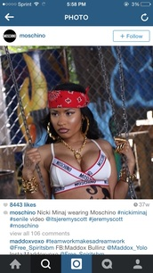 underwear,nicki minaj,moschino,jeremy scott