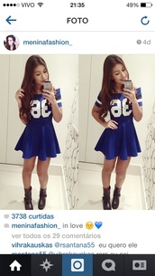 dress,fashion,love,blue dress,sexy dress,party dress,sportswear,jersey dress,skater dress,sporty,36,skater skirt,striped dress,cute dress,sporty dress,shoes,colorful dress,swag,cute,girly,tomboy,blue,off the shoulder dress,navy dress,navy