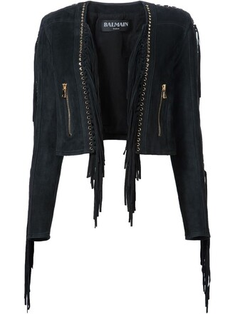 jacket cropped jacket cropped black