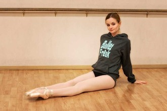 sweater ballet black