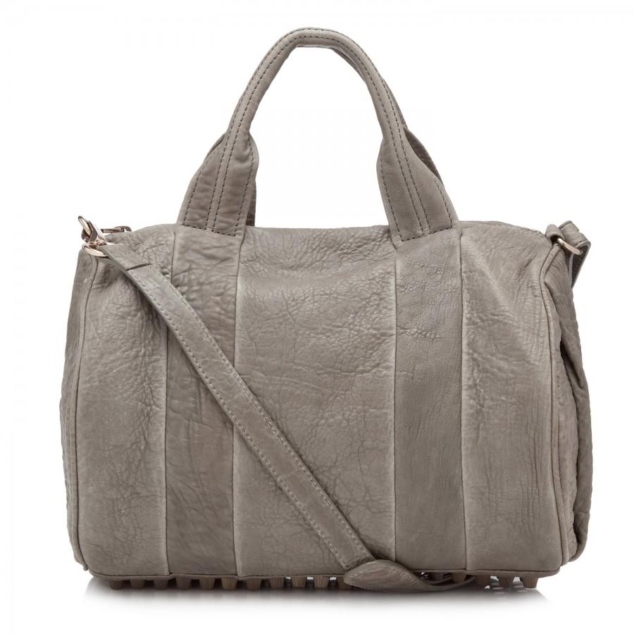 Rocco mini duffle bag, shoulder, harvey nichols store view
