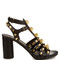 Giant studded leather gladiator sandals