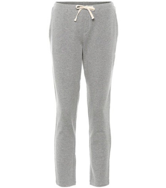 Woolrich pants track pants cotton grey