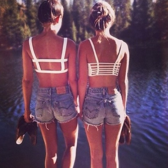 top crop tops weheartit strings back