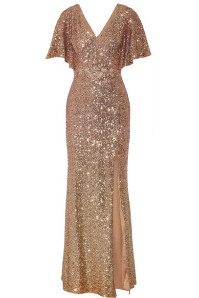 Marchesa Notte - Embellished Tulle Gown - Blush