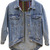 ROMWE   Boyfriend Style Blue Denim Coat, The Latest Street Fashion
