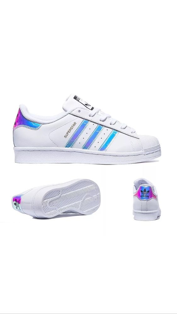 adidas superstar silver iridescent holographic trainers 5. Black Bedroom Furniture Sets. Home Design Ideas