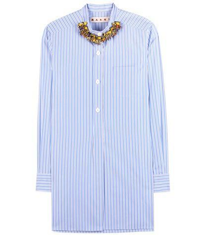 A.L.C. - Blue  Francis Crepe Trench Coat | Boutique1.com