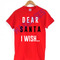 Dear santa i wish t-shirt men women and youth