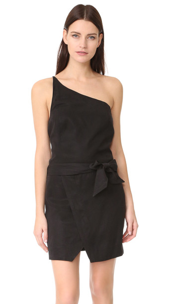 Paige Rosie Hw X Paige Judy Dress - Black
