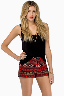 South Of The Border Shorts $48