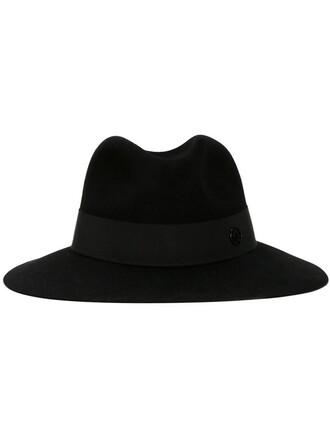 classic hat fedora black