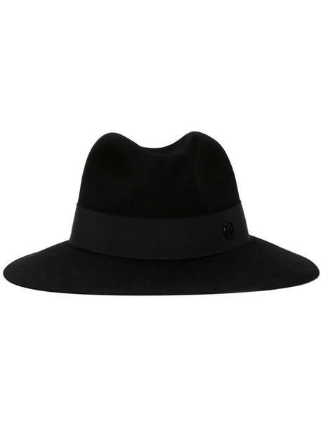 Maison Michel classic hat fedora black