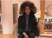 coat,cropped,black,tan,brown,fur coat,fur,faux fur,faux fur jacket,faux fur coat,fur hood,beige,winter outfits,winter coat,crop