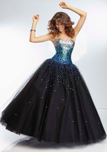 prom dress sparkly dress bustier dress little black dress