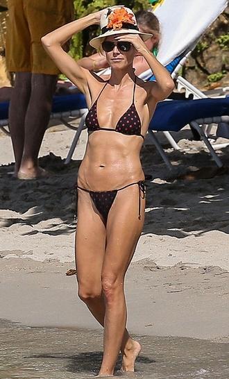 swimwear bikini bikini bottoms bikini top heidi klum summer outfits