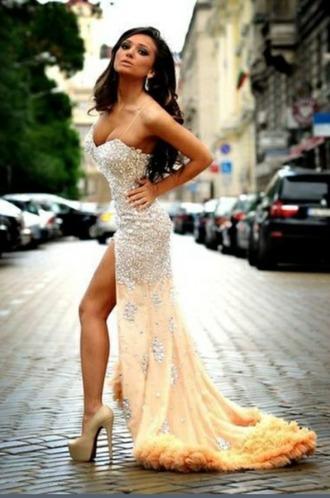 dress high low dress high-low dresses princess princess dress vokuhila dress vokuhila
