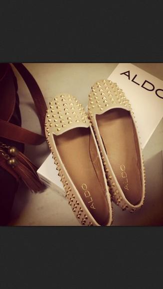 gold studded shoes aldo shoes