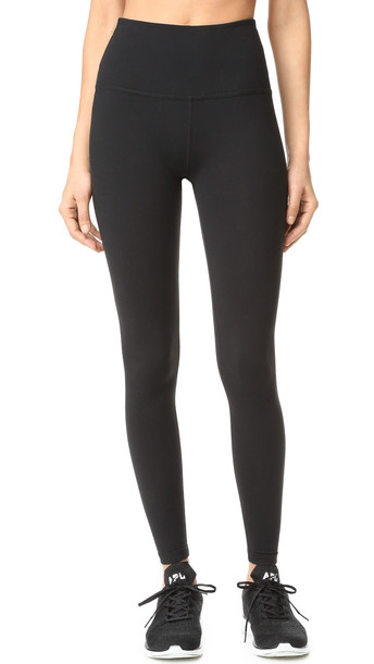 Beyond Yoga High Waist Long Leggings - Jet Black