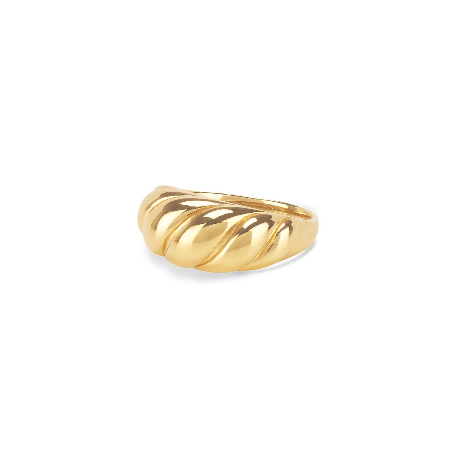 Croissant Dome Ring