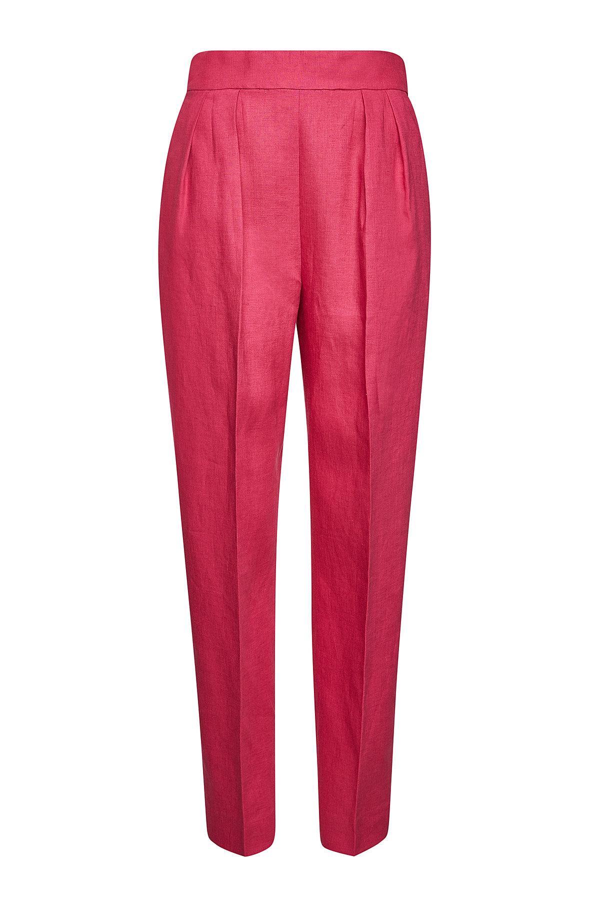 Theory - High Waisted Linen Pants