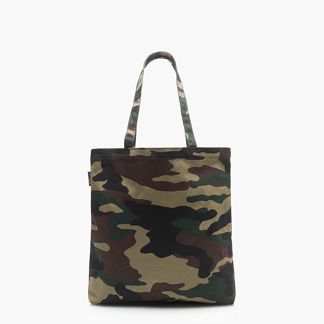 Reusable Everyday Tote Bag In Camo