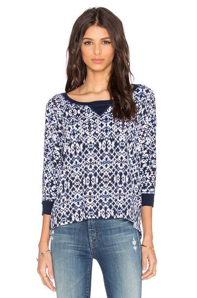 Splendid sweatshirt print navy