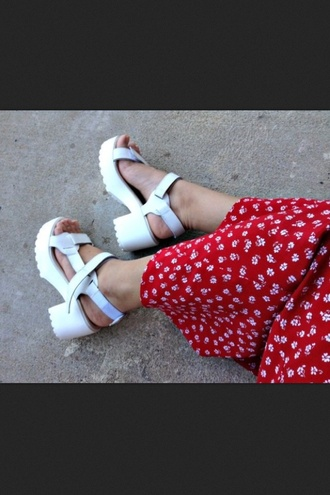 shoes white platform shoes white platforms coucou