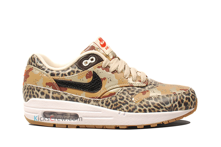 Nike Wmns Air Max 1 PRM Desert Camo Leopard (454746-902) - Order and buy it now from Kicks-Crew online
