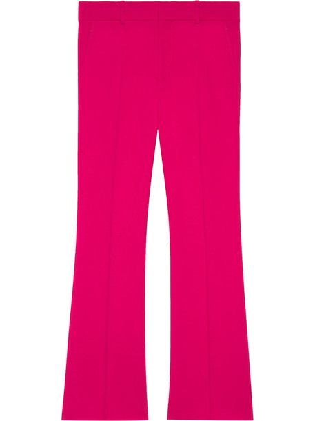 gucci women spandex purple pink pants