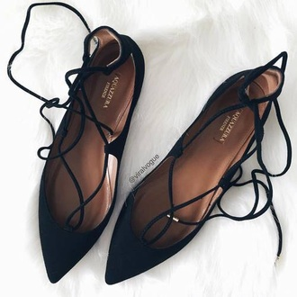 shoes flats black black shoes black flats flat sandals strappy flats pointed flats black lace up lace up ballet flats