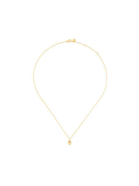 Astley Clarke mini women pendant gold grey metallic jewels
